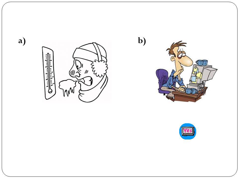 Oral Input (5 min.) Escucha las siguientes frases y elige la foto que mejor representa la acción.