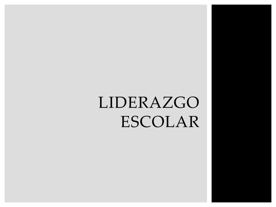 LIDERAZGO ESCOLAR