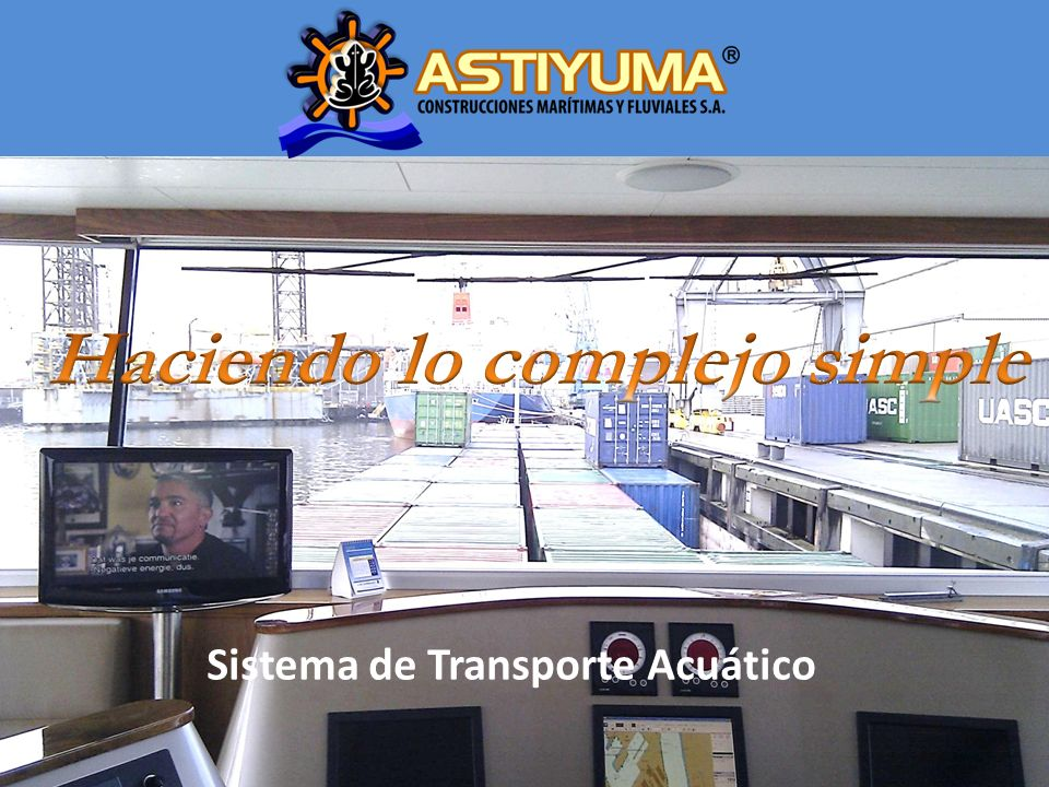Sistema de Transporte Acuático