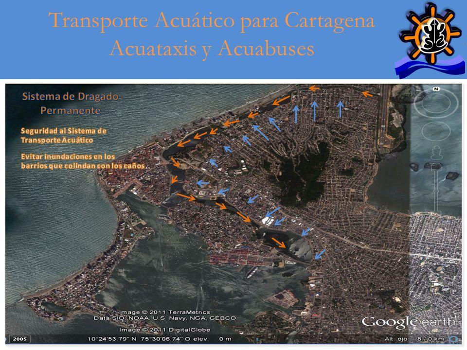 17 Transporte Acuático para Cartagena Acuataxis y Acuabuses Antecedentes