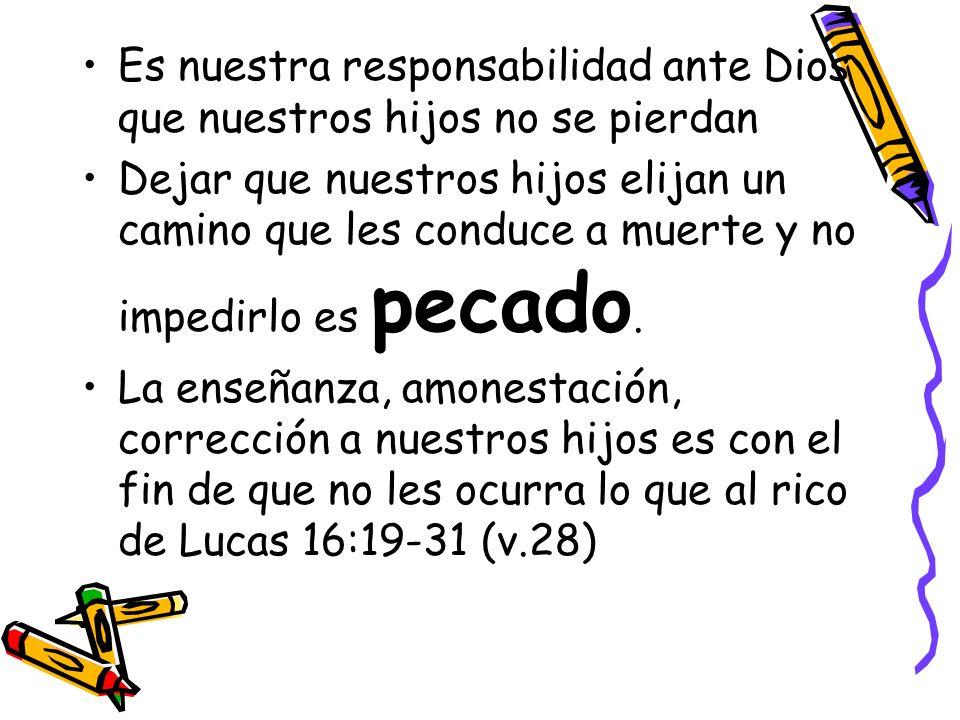 El proceso de la educación bíblica 1) INSTRUCCIÓN 2) CORRECCIÓN 3) DISCIPLINA