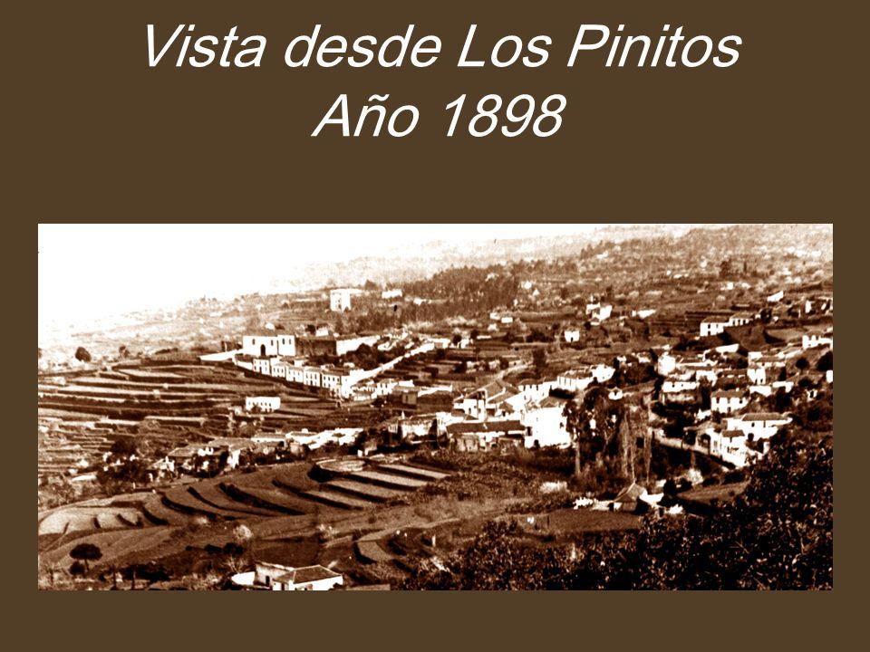 Vista desde Los Pinitos Año 1898