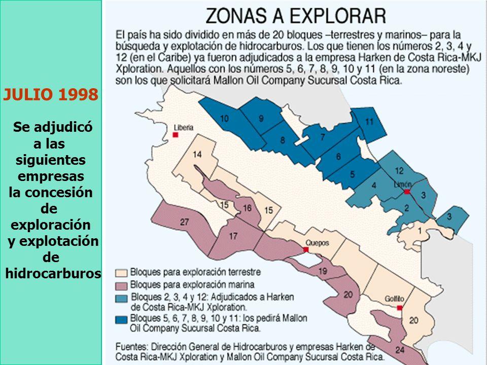PETRÓLEO *El TLC considera la exploración petrolera como un servicio, cubierto por las disposiciones del Capítulo 11. *La actividad se califica como u