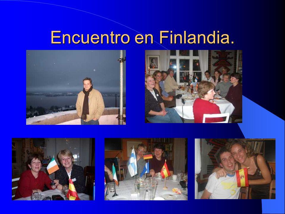 Encuentro en Finlandia.