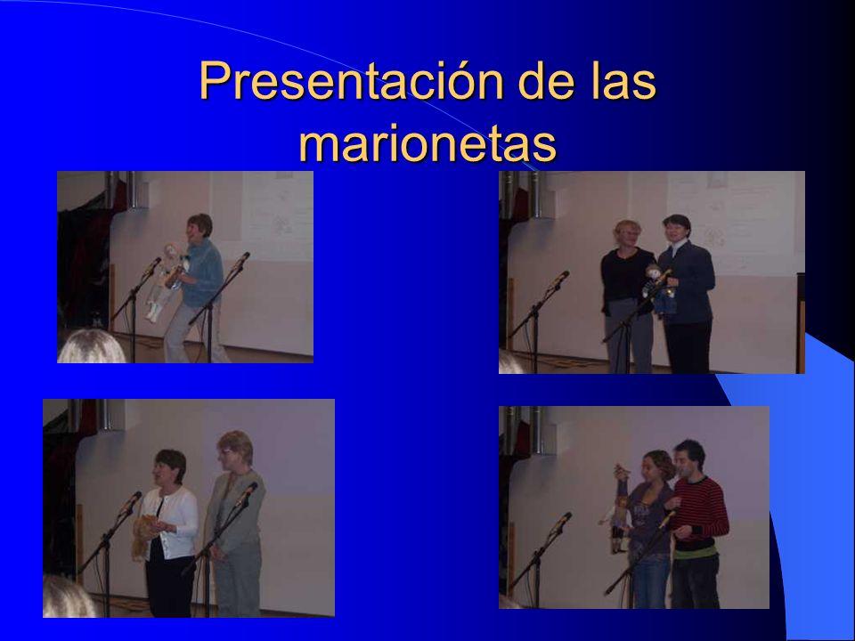 Presentación de las marionetas