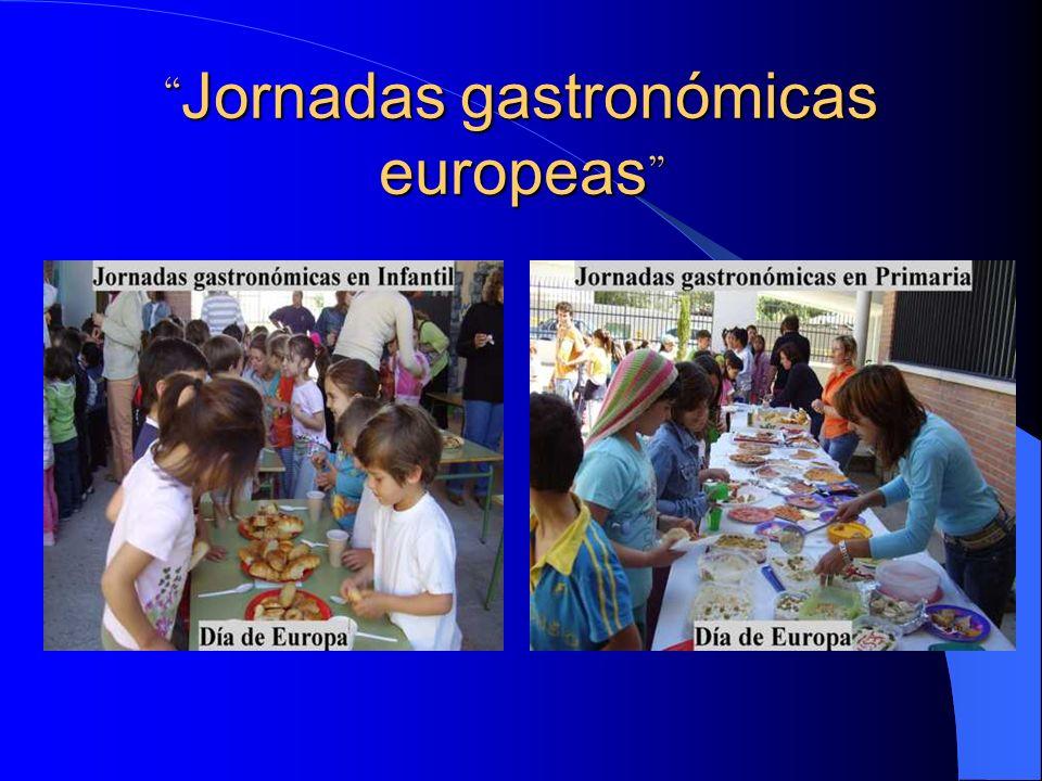 Jornadas gastronómicas europeas Jornadas gastronómicas europeas