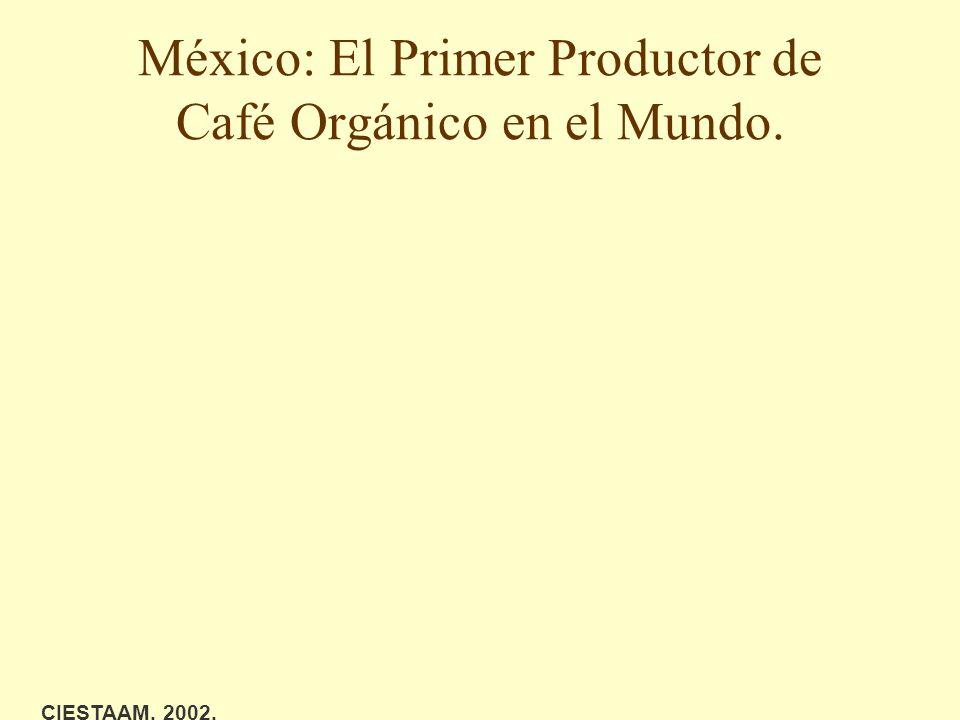 México: El Primer Productor de Café Orgánico en el Mundo. CIESTAAM, 2002.