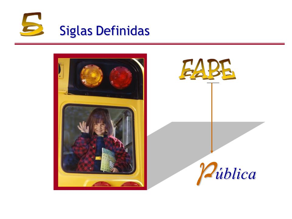 Siglas Definidas P ública
