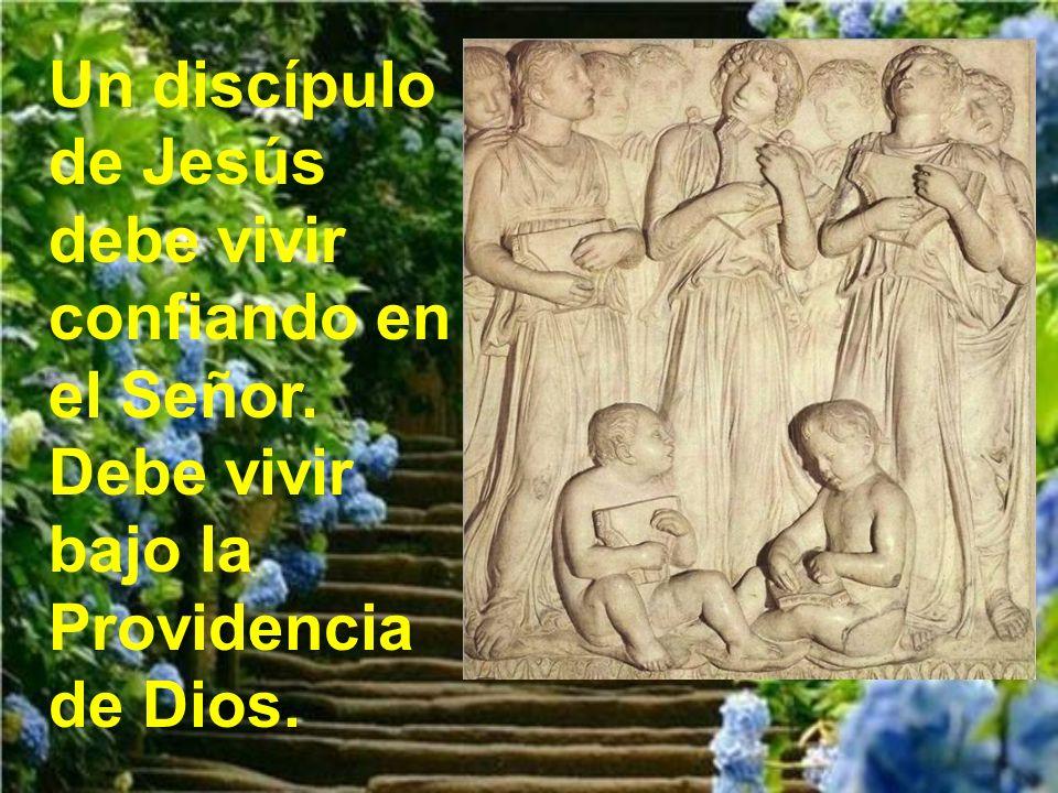 Jesús estaba hablando sobre el tesoro al que tende- mos en la vida.
