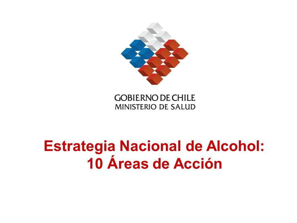 Estrategia Nacional de Alcohol: 10 Áreas de Acción