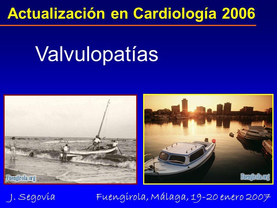 Otto CM, J AM Coll Cardiol 2006; 47:2141 Estenosis Aórtica 2006