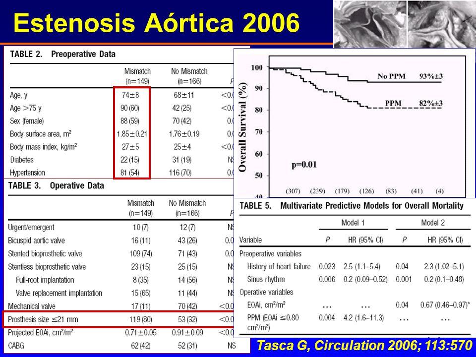 Estenosis Aórtica 2006