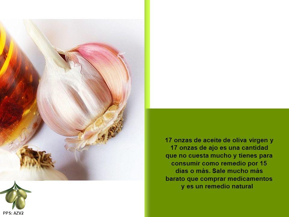En este caso se puede comer el ajo como dosis única, un diente de ajo para 44 lbs. de peso, mezclados con aceite. Normaliza la presión en menos de 30