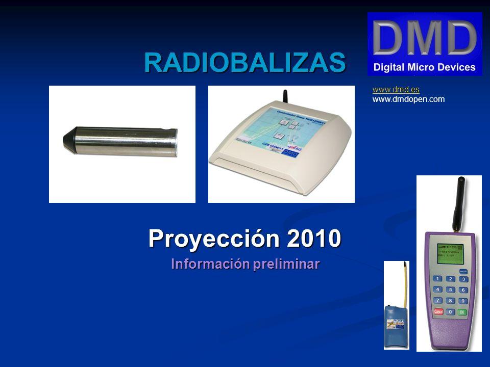 RADIOBALIZAS Proyección 2010 Información preliminar www.dmd.es www.dmd.es www.dmdopen.com