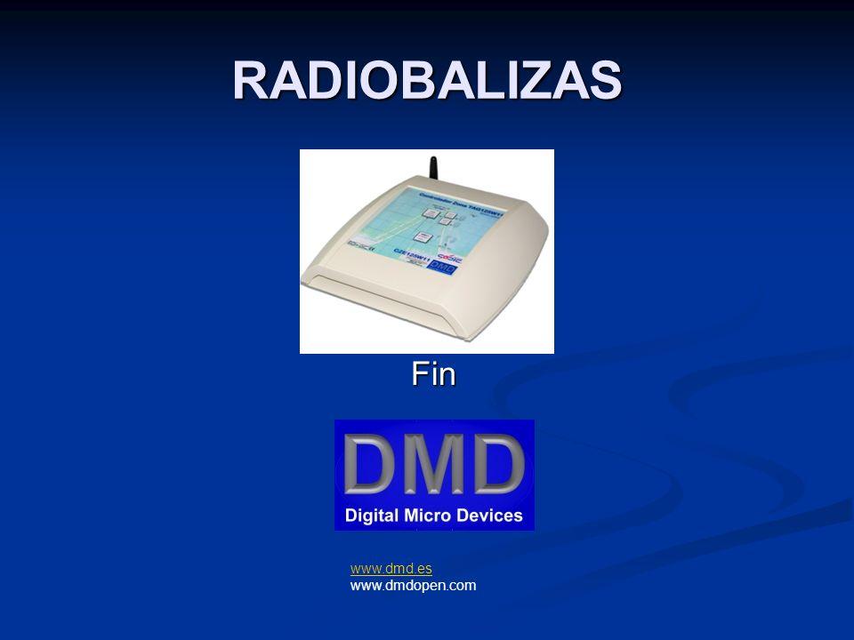 RADIOBALIZAS www.dmd.es www.dmd.es www.dmdopen.com Fin