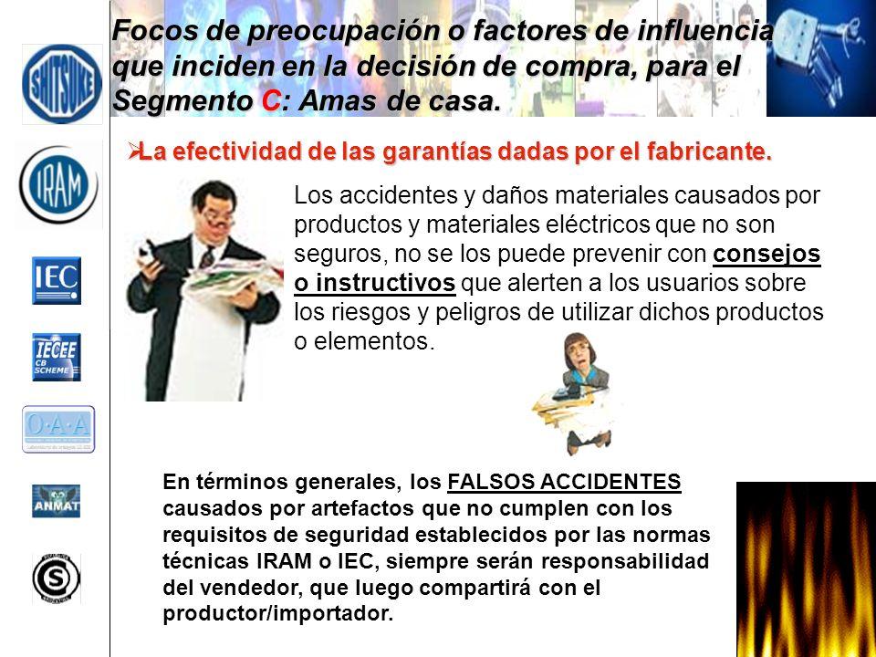 La efectividad de las garantías dadas por el fabricante. La efectividad de las garantías dadas por el fabricante. Los accidentes y daños materiales ca