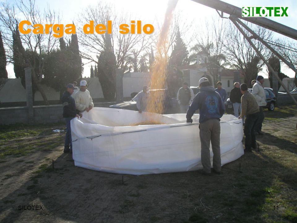 SILOTEX11 Carga del silo