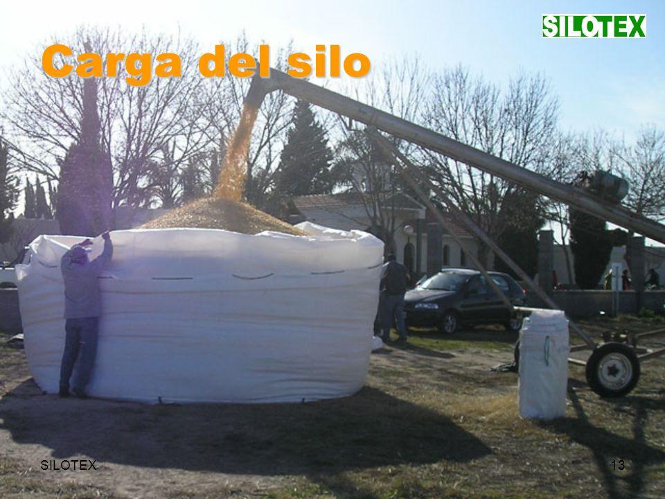 SILOTEX13 Carga del silo