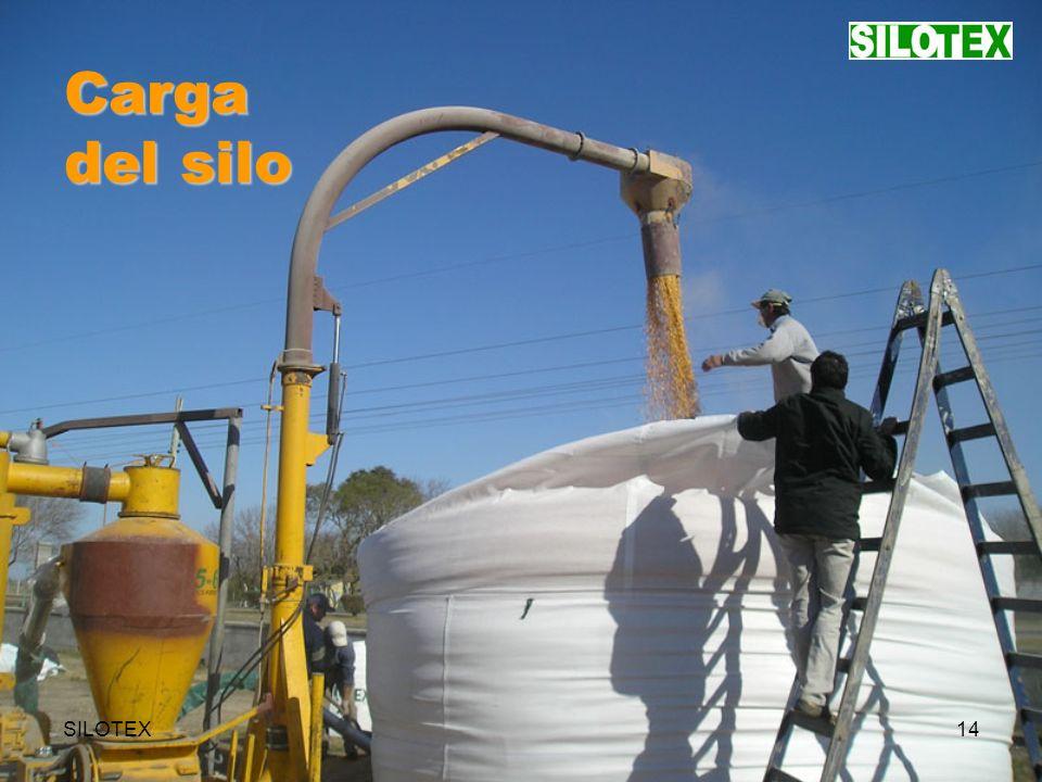 SILOTEX14 Carga del silo