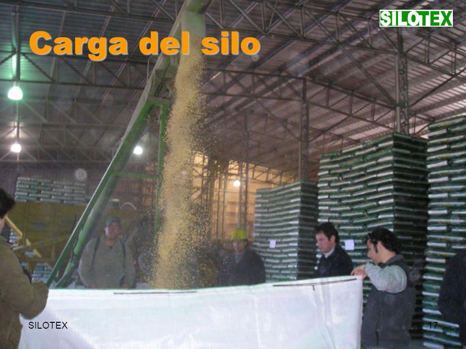 SILOTEX17 Carga del silo