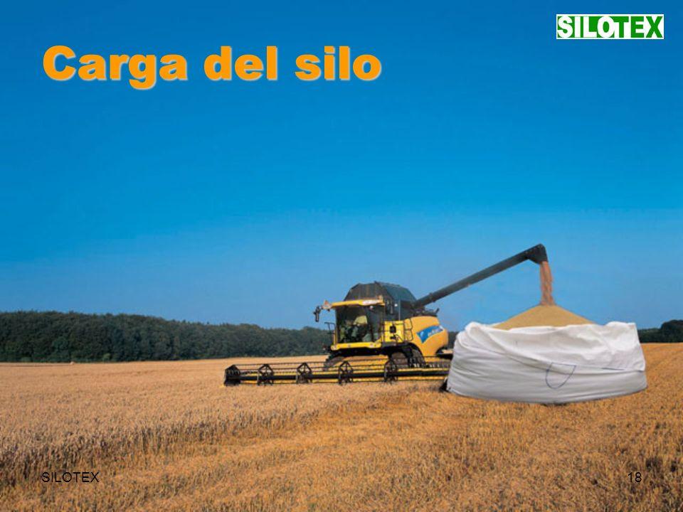 SILOTEX18 Carga del silo