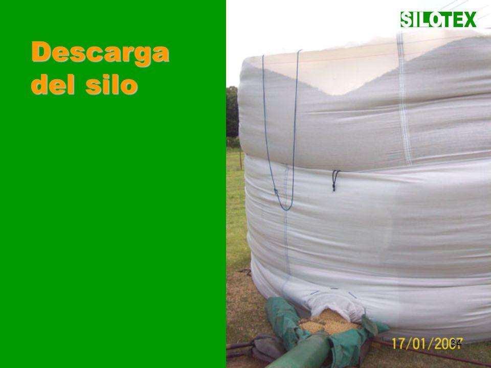 SILOTEX34 Descarga del silo