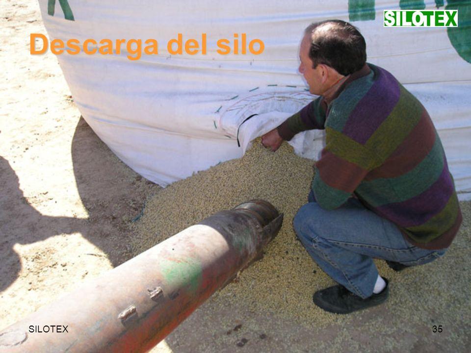 SILOTEX35 Descarga del silo