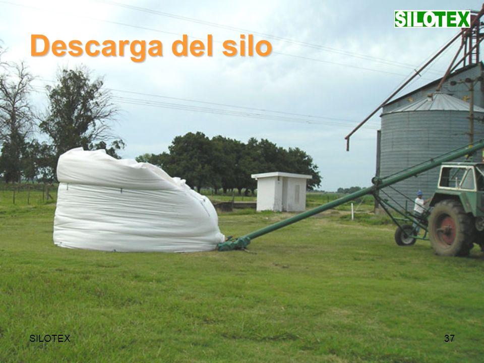 SILOTEX37 Descarga del silo