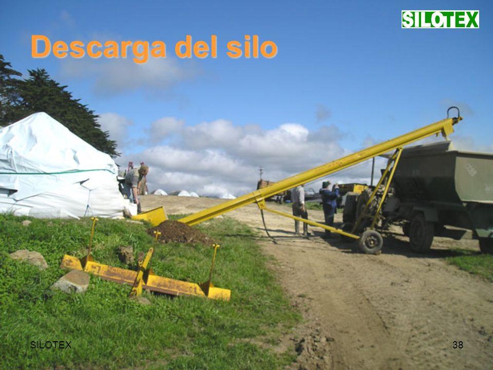 SILOTEX38 Descarga del silo