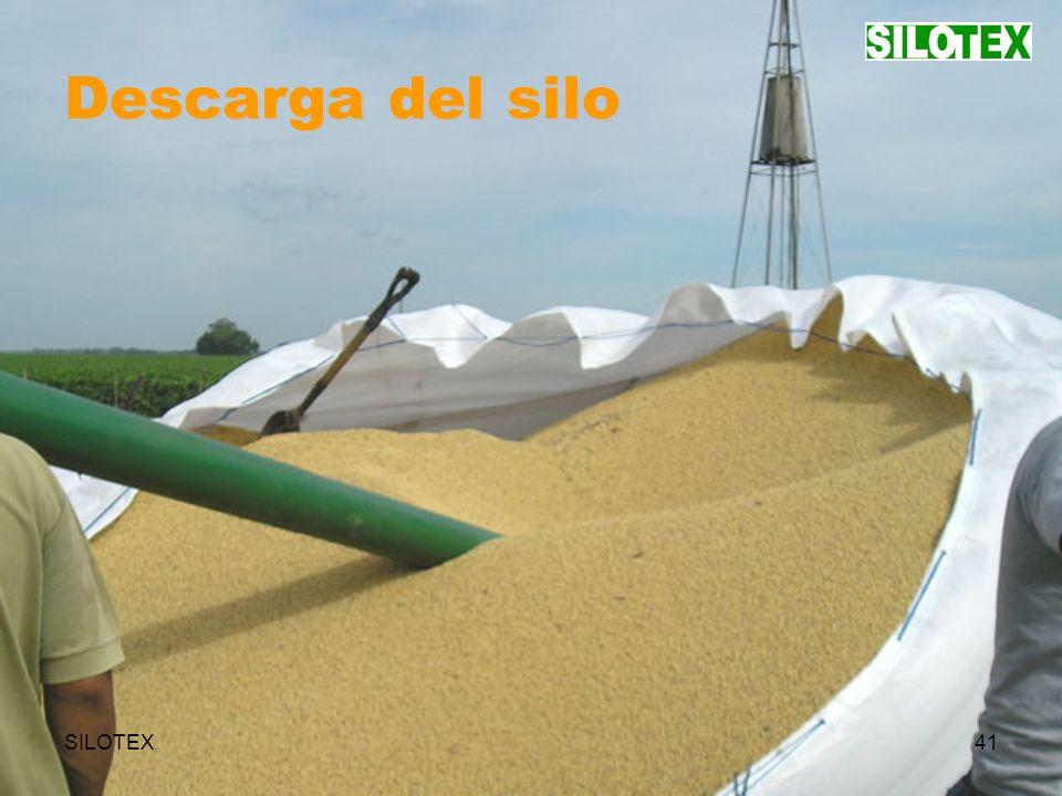SILOTEX41 Descarga del silo
