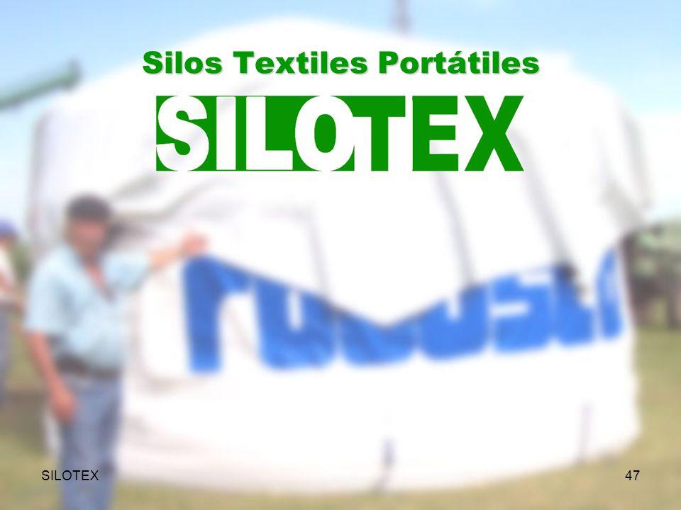 SILOTEX47 Silos Textiles Portátiles