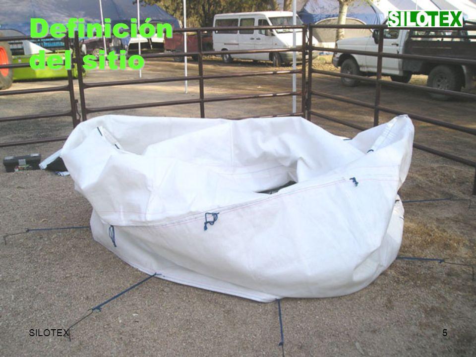 SILOTEX6 Desplegado del cuerpo- envolvente