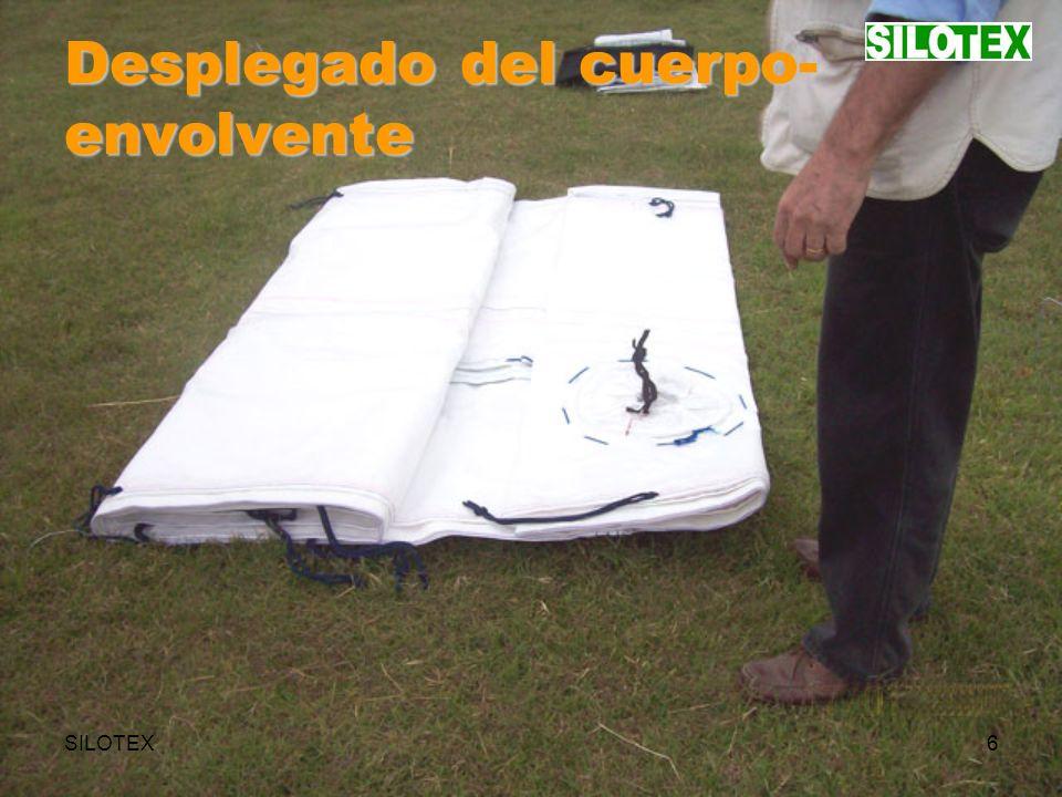 SILOTEX27 Instalación del techo