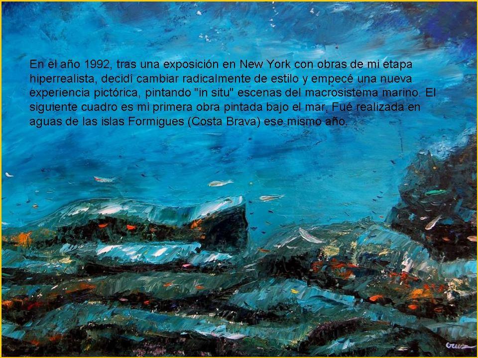ALFONSO CRUZ Pintor y poeta con una dilatada carrera artística.