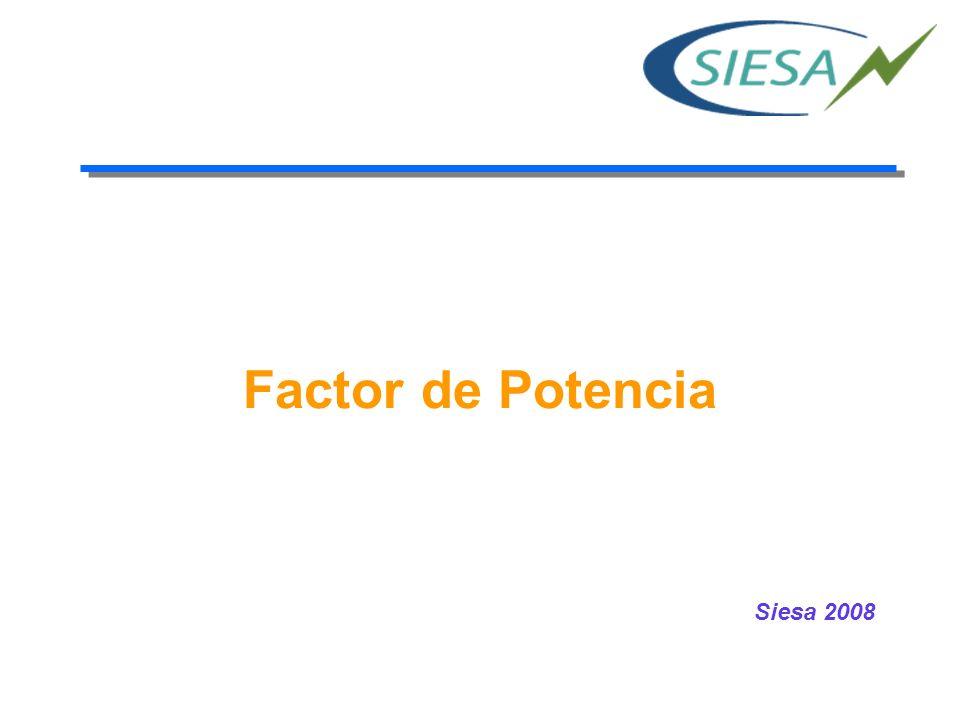 Compensación del factor de potencia (1/5) Las cargas inductivas requieren potencia reactiva para su funcionamiento.