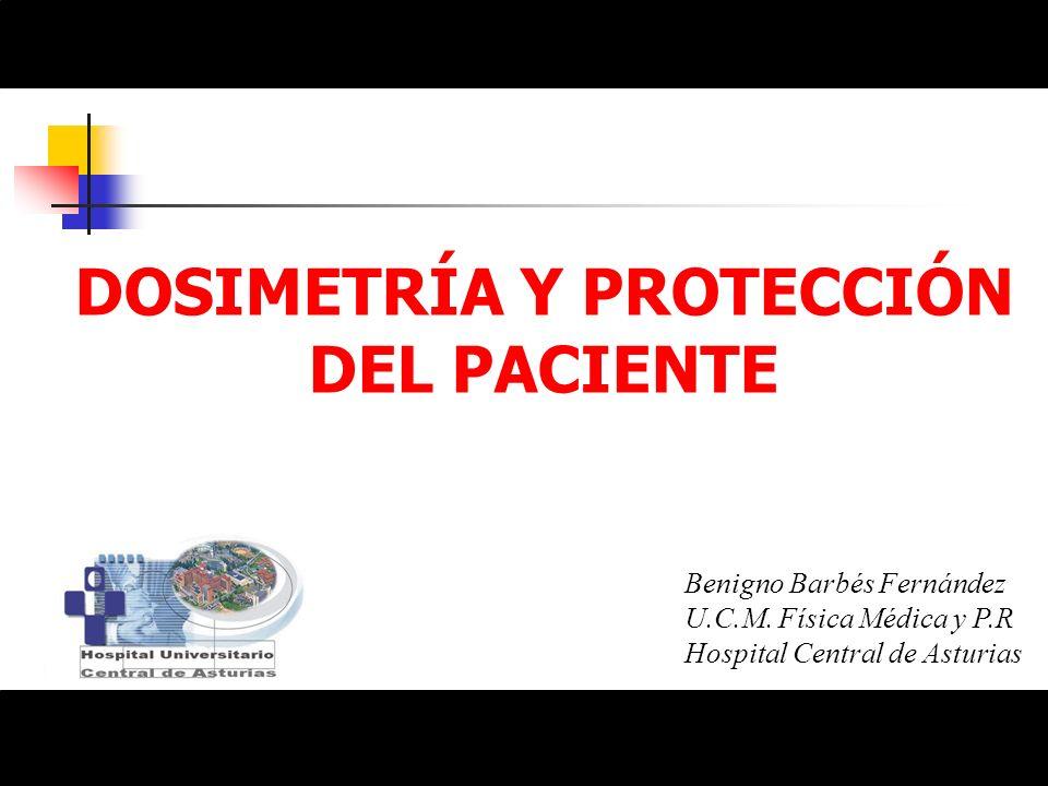 Responsabilidad al prescribir una exploración radiológica Justificación beneficio vs.