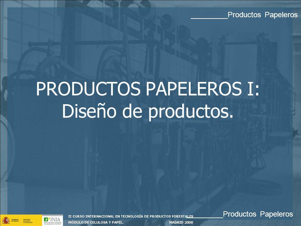 PAPELES ESPECIALES _________Productos Papeleros