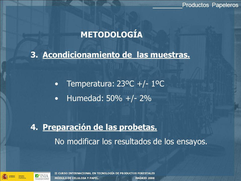 METODOLOGÍA 1. 1.Toma de muestras. Representativa 2. 2.Recepción y manejo de las muestras. No modificar los resultados de los ensayos. Mantener la ide