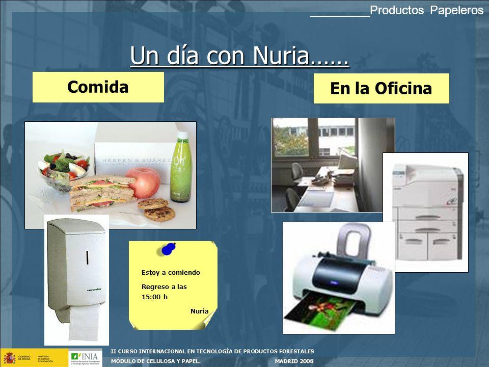 ¿ Qué día de trabajo me espera hoy? Camino al Trabajo Un día con Nuria…… ¡¡¡ Por qué a mi!!! _________Productos Papeleros