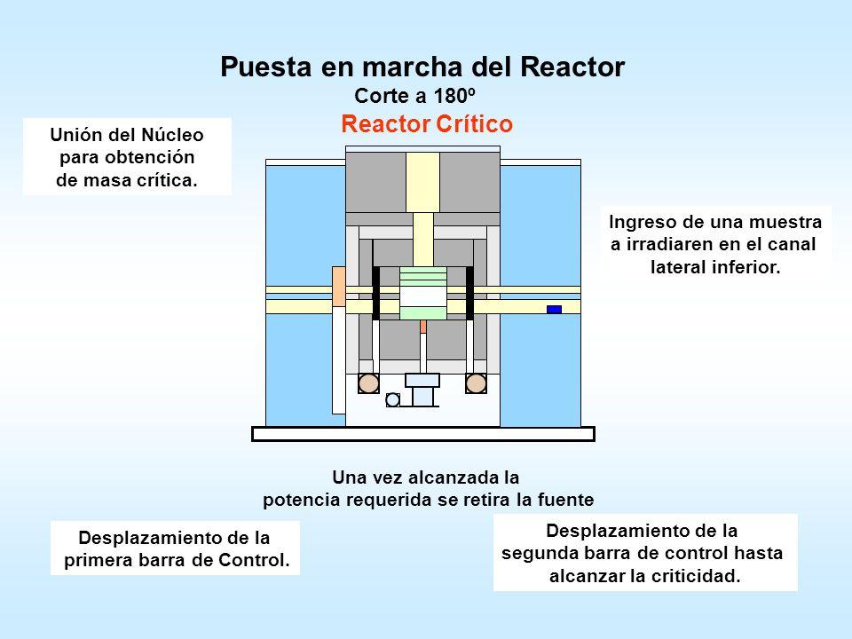 Esquema del Reactor Núcleo Vista SuperiorCorte a 90º Núcleo Reflector de Grafito Blindaje de Plomo Columna Térmica Cámaras de Ionización Contadores Pr