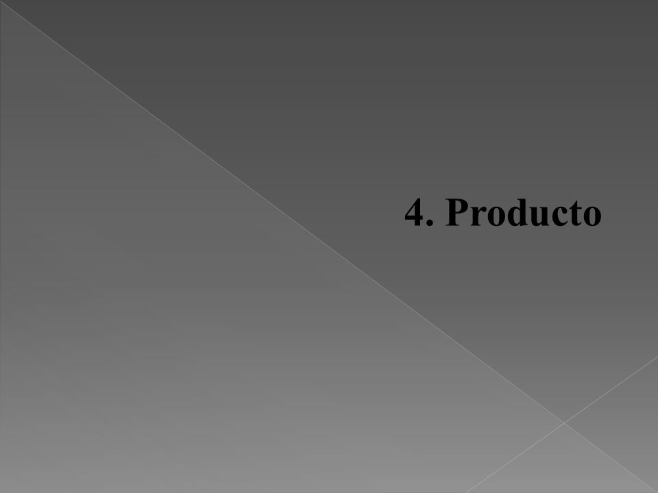 4. Producto