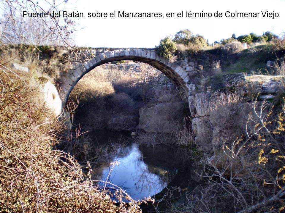 Santillana, el embalse más importante que forma el Manzanares y uno de los principales de la Comunidad de Madrid. Este embalse es uno de los últimos l