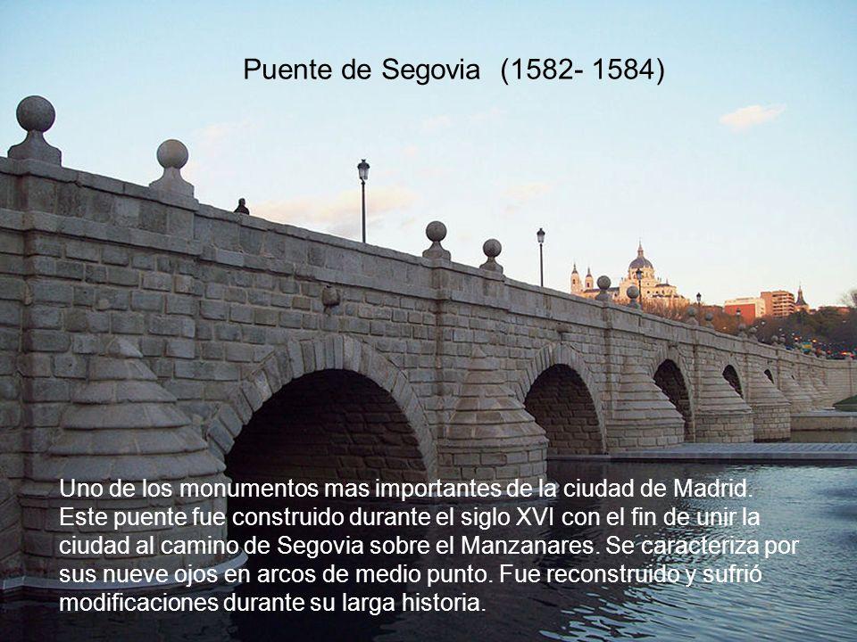 Río Manzanares llegando al puente del Rey