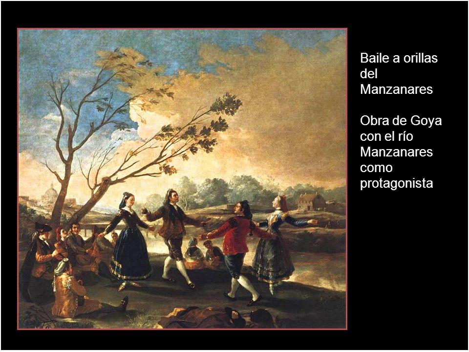Goya plasmó en la Pradera de San Isidro, las riberas del río Manzanares