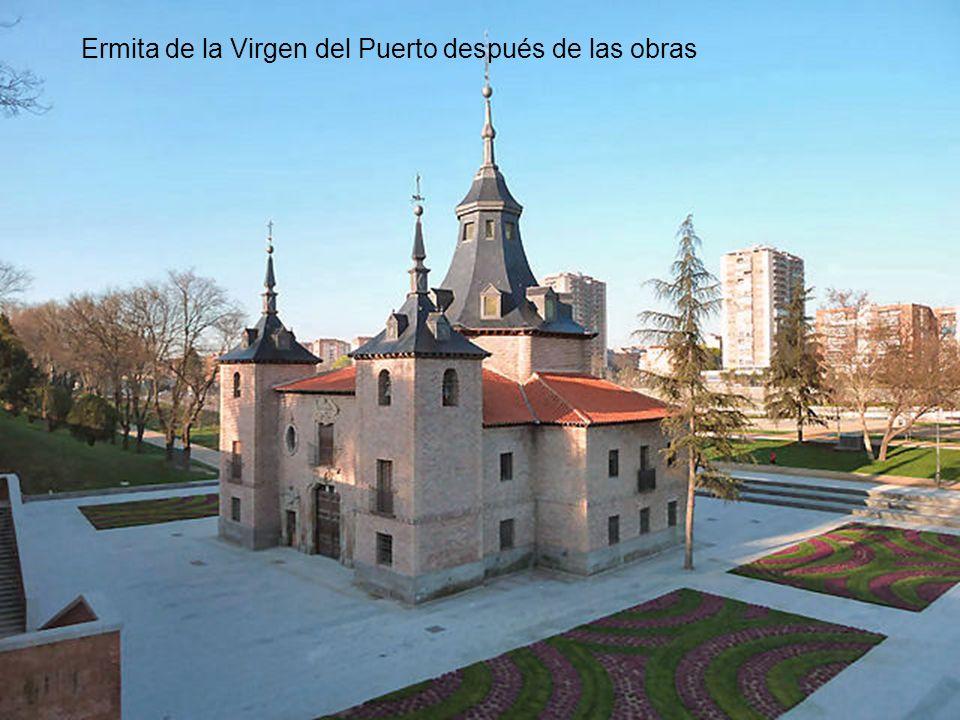 Ermita de la Virgen del Puerto antes de las obras
