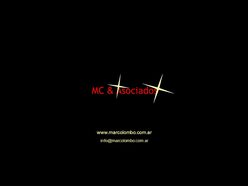 MC & Asociados www.marcolombo.com.ar info@marcolombo.com.ar