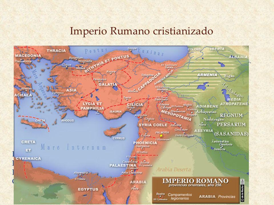 Imperio Rumano cristianizado Antioquía conservó su dignidad, y en el ámbito eclesiástico obtuvo el cuarto lugar de la pentarquía establecida en los Co
