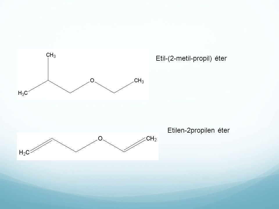 Etil-(2-metil-propil) éter Etilen-2propilen éter