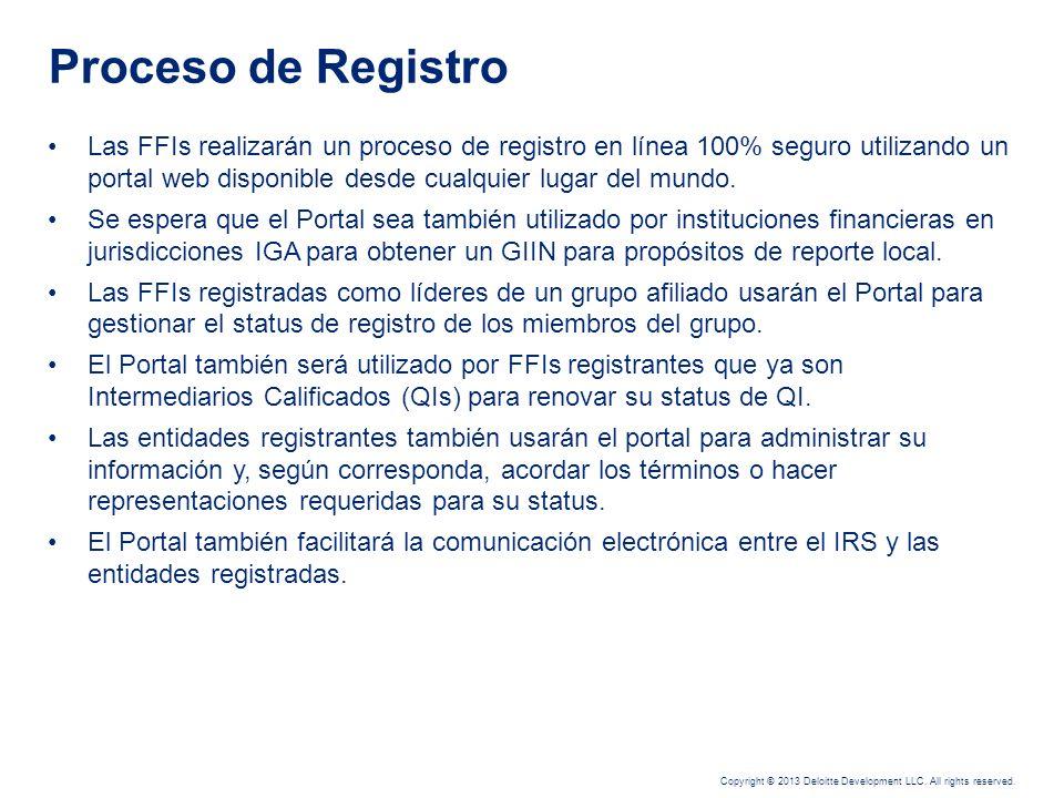 Copyright © 2013 Deloitte Development LLC. All rights reserved. Las regulaciones establecen los requerimientos para: Verificar el cumplimiento con el