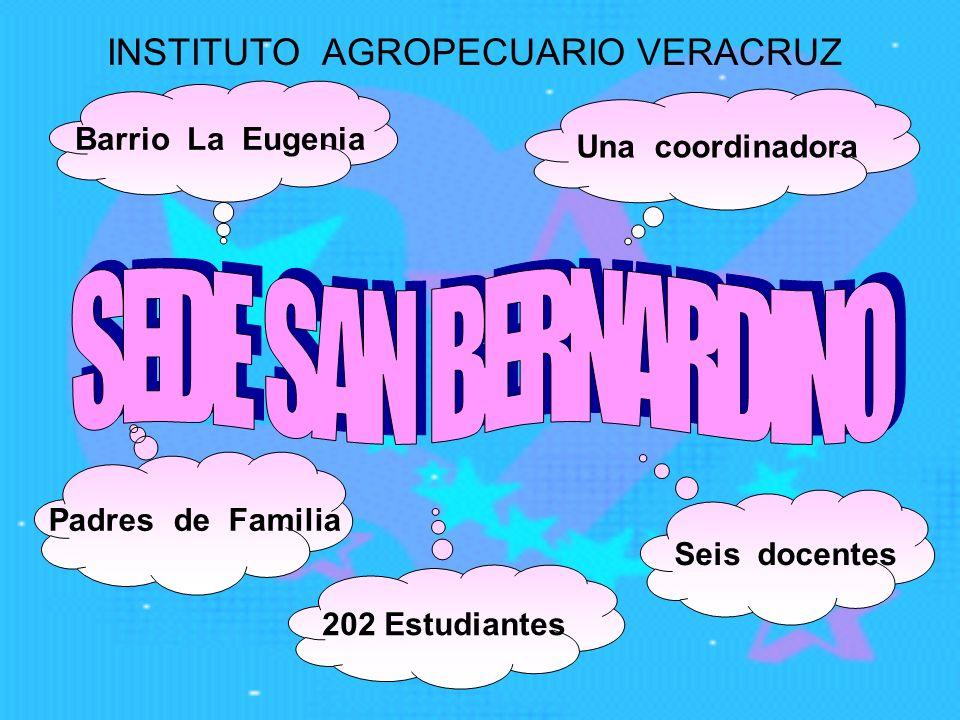 Descripción de la institución El Instituto Agropecuario Veracruz se localiza en la parte noroccidental del municipio de Santa Rosa de Cabal a treinta